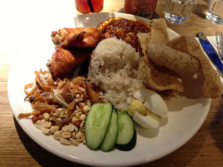 lemak: Nasi lemak