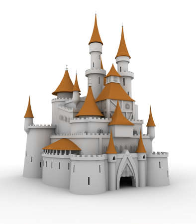 medieval palace (image can be used for printing or web)
