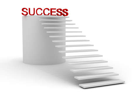 upraise: stairway leads to success  image can be used for printing or WEB