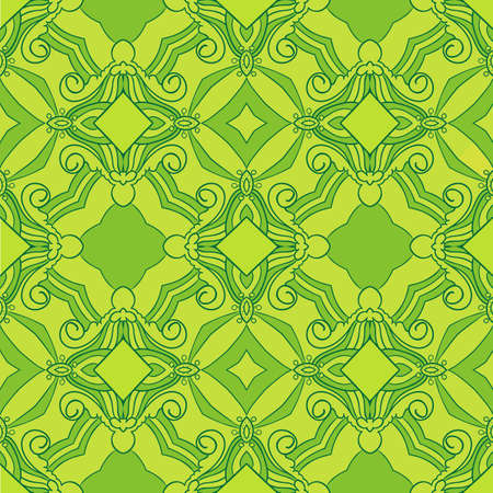 exultant: Seamless vector pattern  Summer colours  Exultant mood