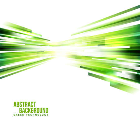 Abstracte eco-technologie achtergrond. Verplaatsing naar het centrum concept. Stock Illustratie