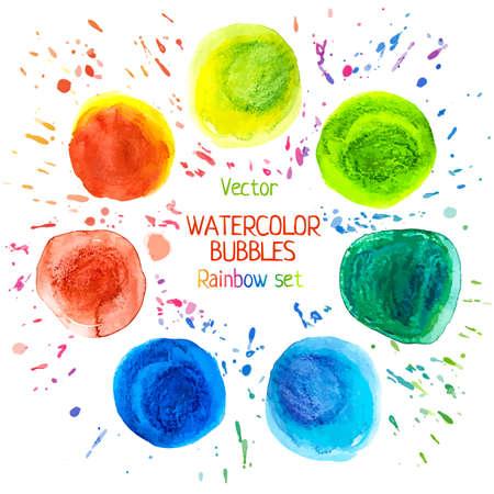 raibow: Drawing watercolor