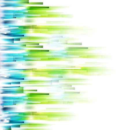 green technology: Abstract spring illustration. Illustration