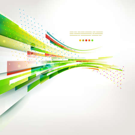 abstract colorful lines illustration.