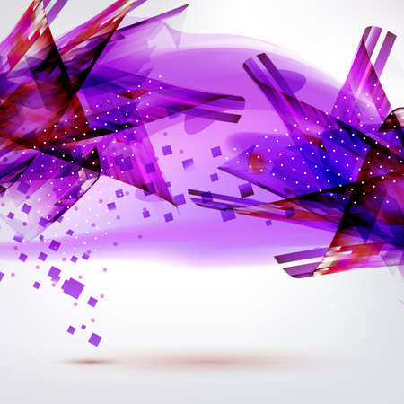 medic: Bright colors purple abstract vector background. Medic technology banner. Illustration