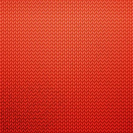 hilo rojo: Modelo hecho punto rojo. Color de fondo abstracto con textura de tejido de punto. bandera de punto incre�ble.