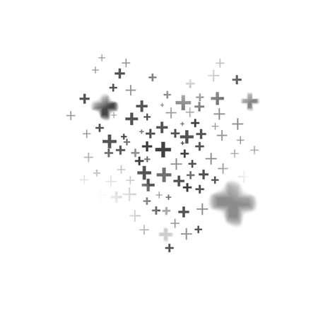 Abstracte achtergrond gemaakt met plusteken. Vector illustratie. Idee voor groei van webdesign.