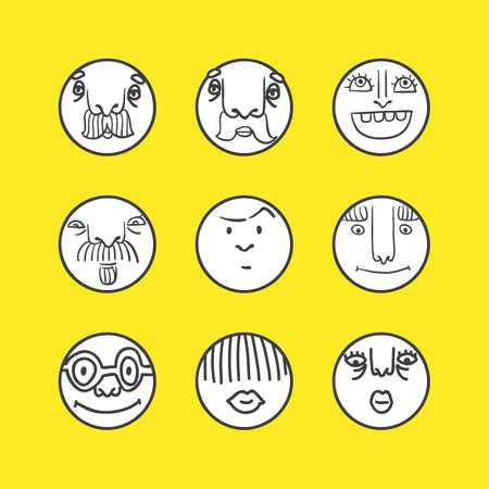 disappoint: Smile icons