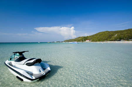 jetski: jetski, beach, thailand