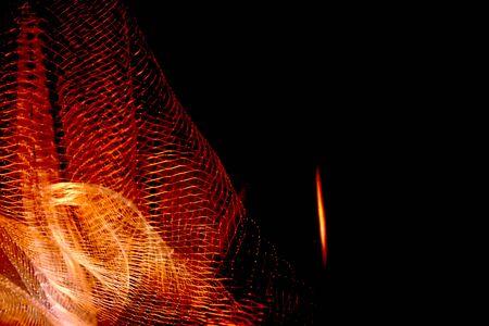 fishnet: Colourful Fishnet Photograph