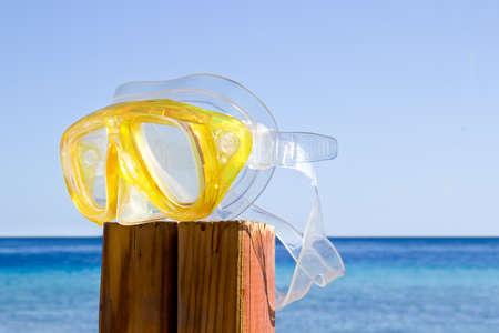 ennui: scuba mask  summer is over