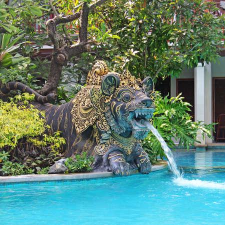 tropics: beautiful swimming pool in the tropics Resort Editorial