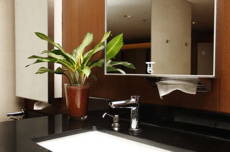 bathroom interior: Modern Bathroom interior Stock Photo