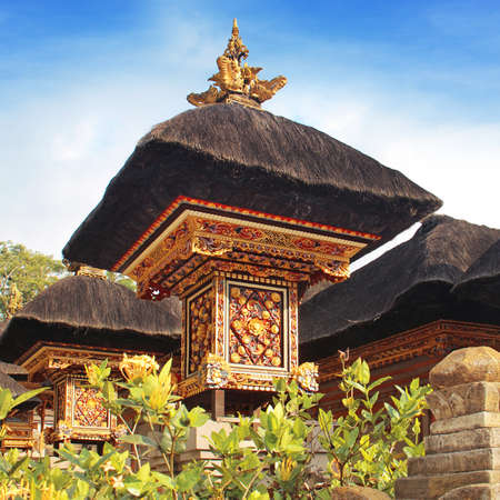 balinese: Traditional Balinese temple roof