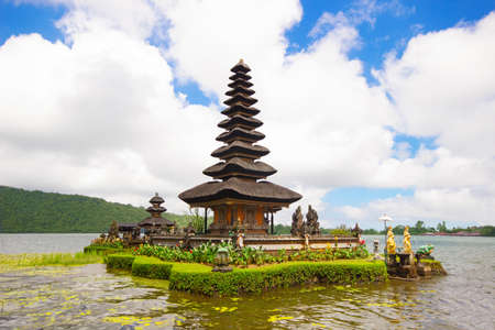 danu: Ulun Danu temple in Bali island, Indonesia Stock Photo