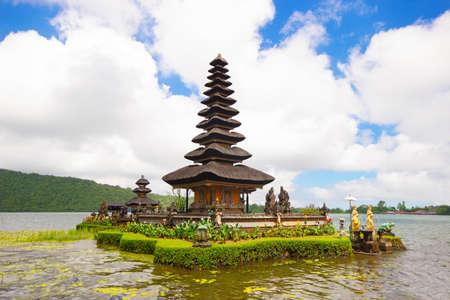 ulun: Ulun Danu temple in Bali island, Indonesia Stock Photo