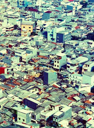 A lot of poor houses Reklamní fotografie