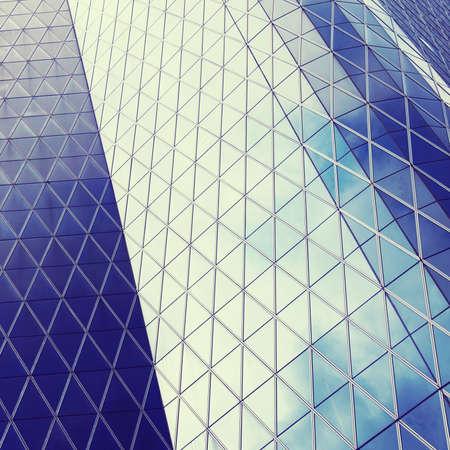 abstrait architecture d'un immeuble moderne