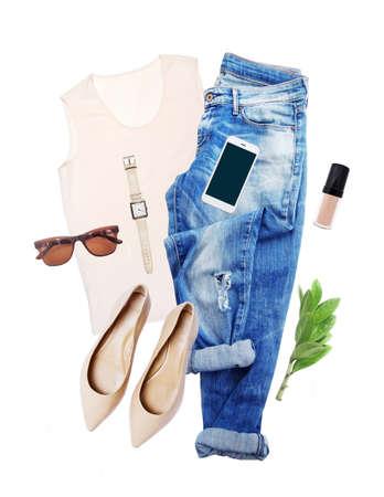 view an elegant wardrobe: Shabby white wooden  texture