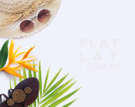 Concepto de blogger de moda.
