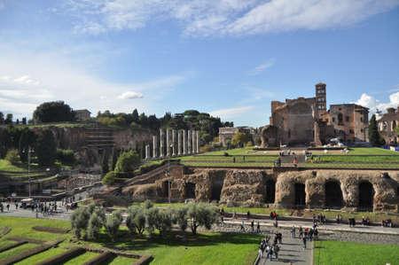 Rome forum Stock Photo - 13226179