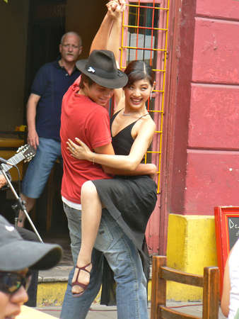 Tango in the Caminito