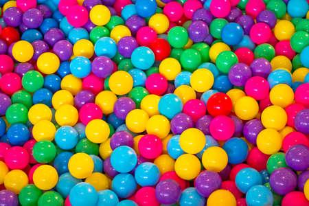 pelota: Bolas de colores Foto de archivo