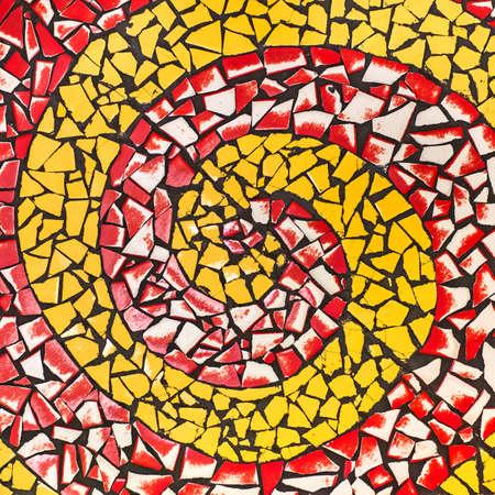 flooring: Multi-colored ceramic flooring Stock Photo