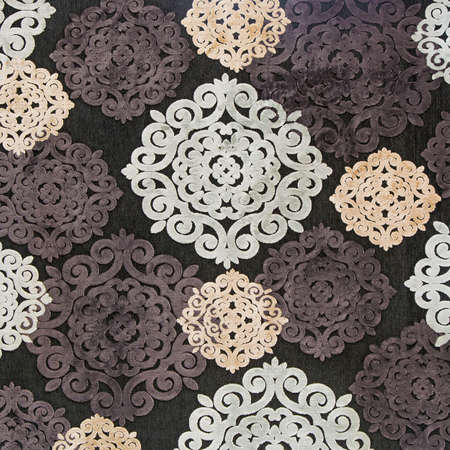 carpet and flooring: Colorful of carpet texture Stock Photo