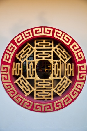 chinese temples window photo