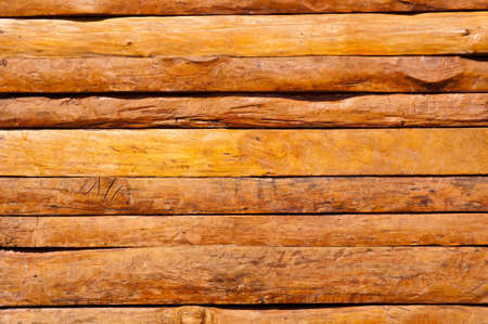 texture of teak wood wall rough surface Stock Photo - 9730512