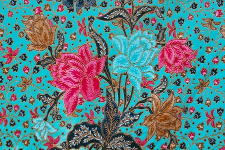 textile design: closeup pattern texture of general traditional thai style native handmade fabric weave
