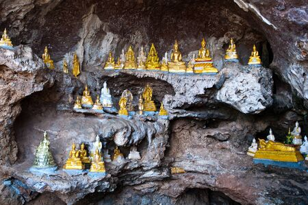 buddha in the cave Stock Photo - 11814461