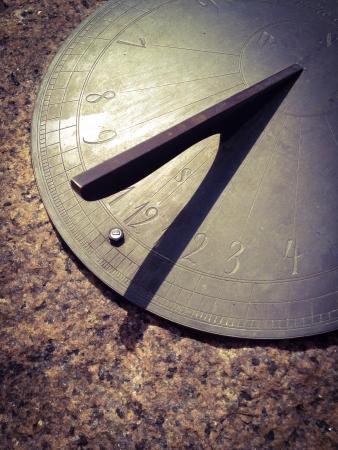 Sundial closeup