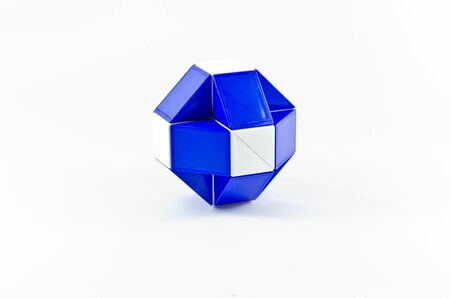 Cube ball with white background  Stock Photo