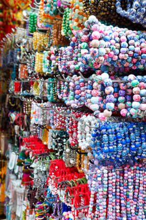 Image of bead colorful in china town photo