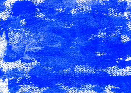 blue paint background close up