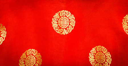 chiness: red chiness fabric textile background