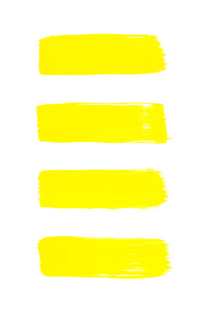 yellow abstract hand painted watercolor background  photo