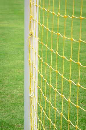 goal football net background Stock Photo