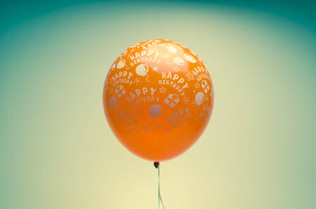 vintage birthday balloon