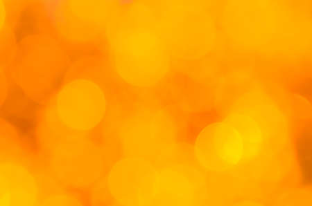 A yellow bokeh is background and texture Stock Photo