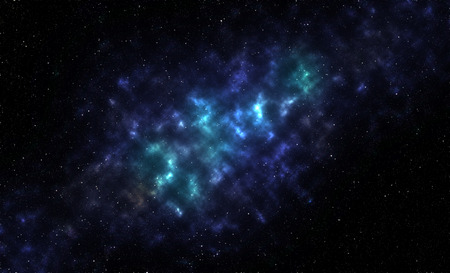 all purpose: The blue galaxy and star are design for all purpose. Stock Photo