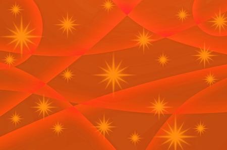 all purpose: The stars and orange color are design for all purpose. Stock Photo