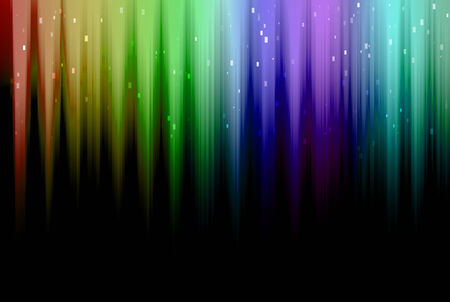 The colorful lights are design for background and others. Stock Photo