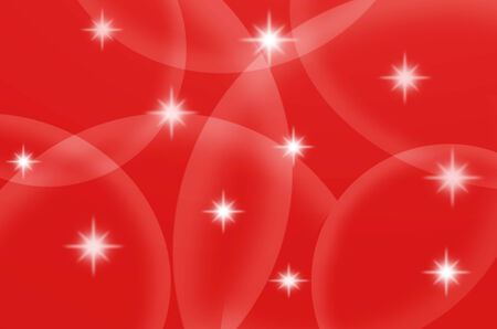 The stars and red color are design for web and others. Stock Photo