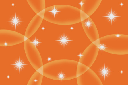 all purpose: The orange color with star are design for all purpose. Stock Photo