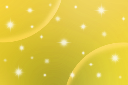 The yellow color with stars are making for background, abstract and others. Stock Photo