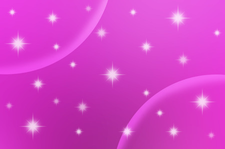 The pink color with stars are making for background, abstract and others.
