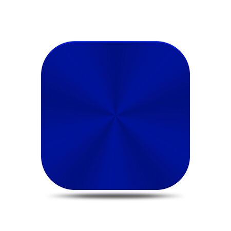 The blue metal is create for web and others. Stock Photo